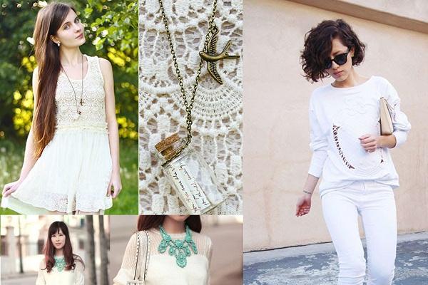 Xu hướng thời trang White on white