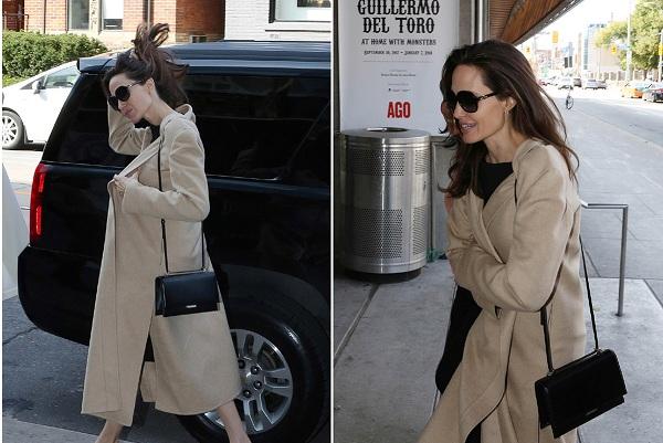 Những hình ảnh mới nhất của Angelina Jolie trên các trang tin tức thời trang