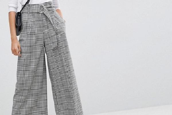 """""""Tôi thật sự rất thích thiết kế quần culottes kẻ sọc của ASOS"""""""