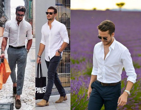 Những cách phối màu quần áo nam