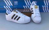 Giày sneaker nữ trắng adidas Super Star
