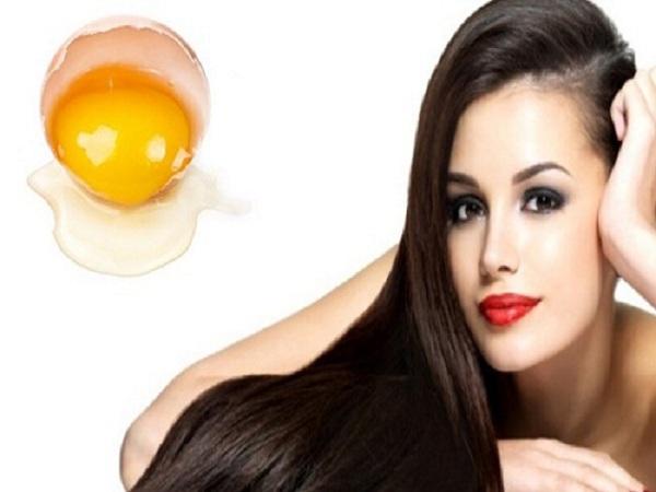 Cách làm tóc mượt bằng Trứng