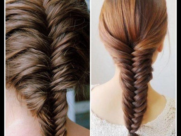 Tóc tết kiểu xương cá - cách tết tóc đẹp