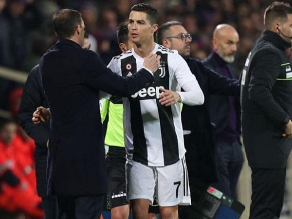 """Chủ tịch Napoli: """"Ronaldo mới là HLV của Juventus"""""""