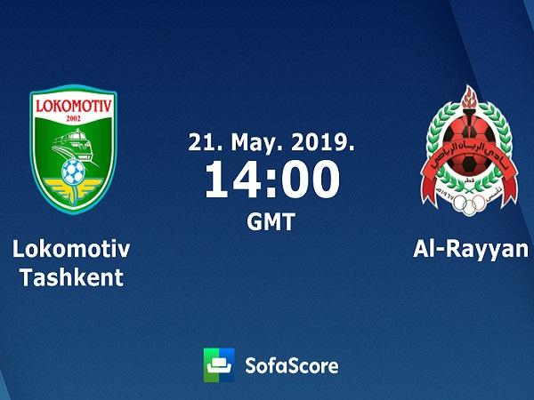 Soi kèo Lokomotiv Tashkent vs Al Rayyan, 21h ngày 21/05