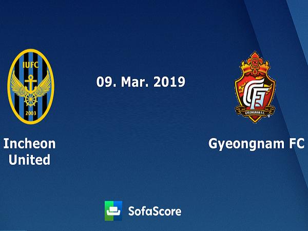 Nhận định Incheon United vs Gyeongnam, 17h30 ngày 30/07