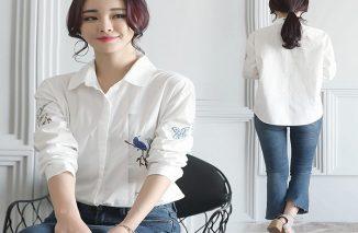 Những mẫu áo sơ mi Hàn Quốc được các nàng ưa thích