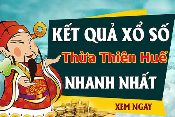 Soi cầu XS Thừa Thiên Huế chính xác thứ 2 ngày 29/07/2019