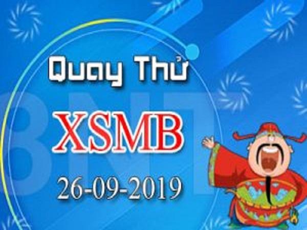 Thống kê KQXSMB ngày 26/09 chuẩn 100%