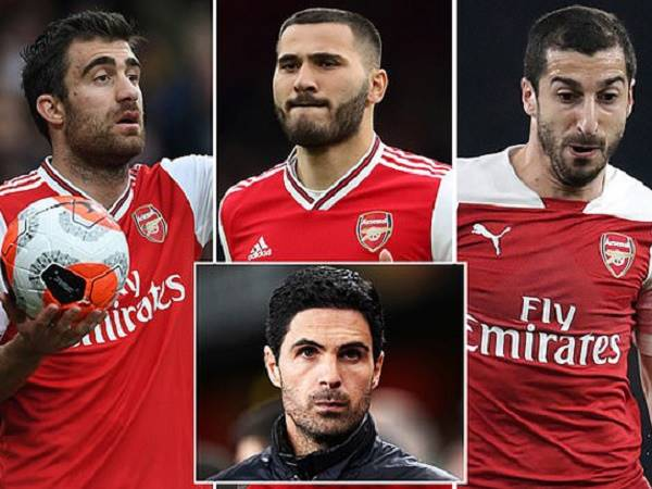 Chuyển nhượng Arsenal 25/3: Arsenal thanh lý cùng lúc 5 cầu thủ