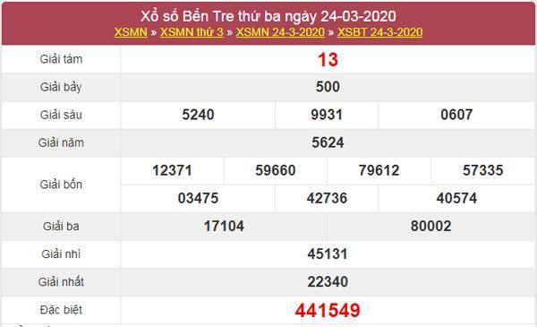 Phân tích KQXSBTR 31/3/2020 - Thống kê XS Vũng Tàu thứ 3