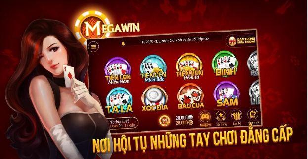 Game đánh bài online Megawin – Giải trí ăn tiền hấp dẫn nhất