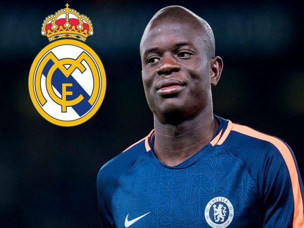 Hụt Pogba Real lên kế hoạch mua Kante