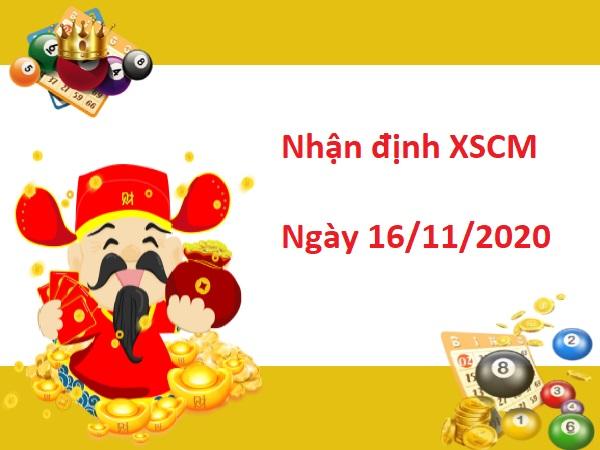 Nhận định XSCM 16/11/2020