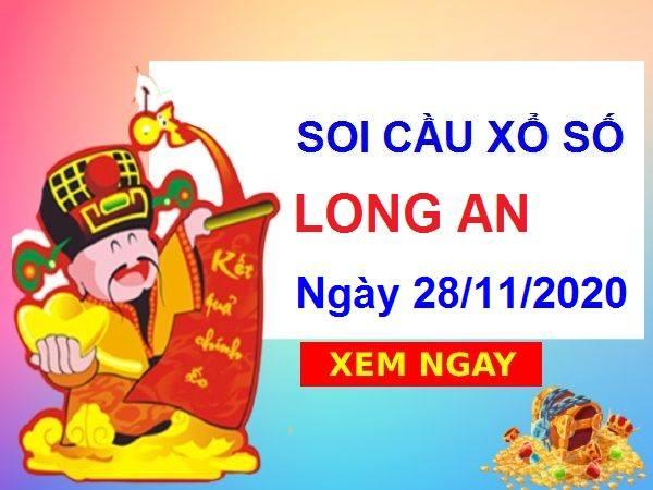 Soi cầu XSLA ngày 28/11/2020