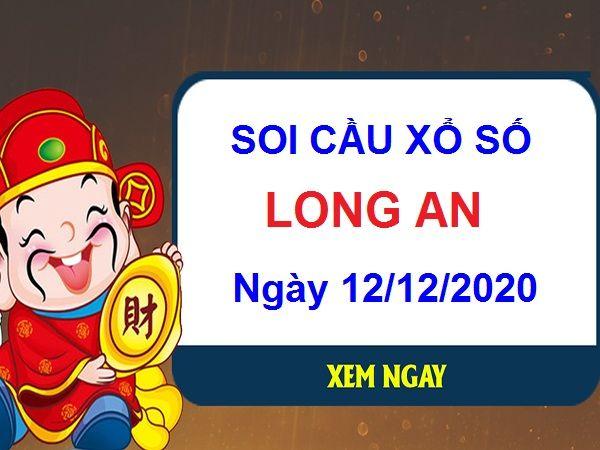 Soi cầu XSLA ngày 12/12/2020