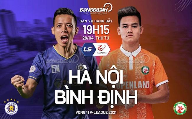 Nhận định, soi kèo Hà Nội vs Bình Định, 19h15 ngày 28/04