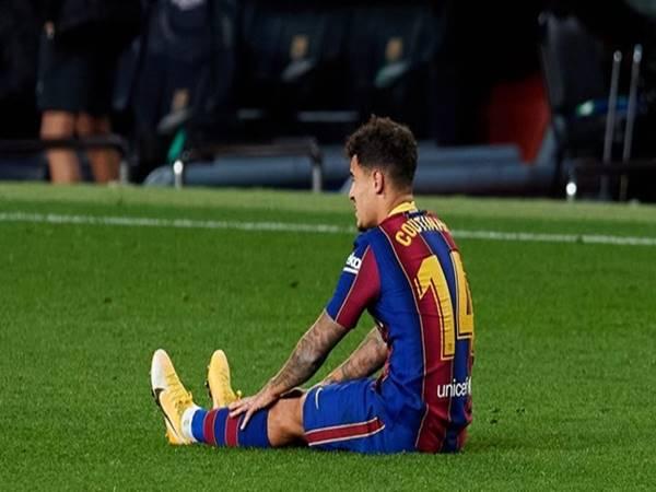 Tin thể thao 6/4: Barcelona đón nhận tin không vui từ Coutinho
