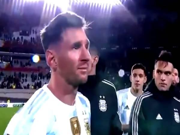 Tin bóng đá 10/9: Messi khóc nức nở trên đường tới World Cup 2022