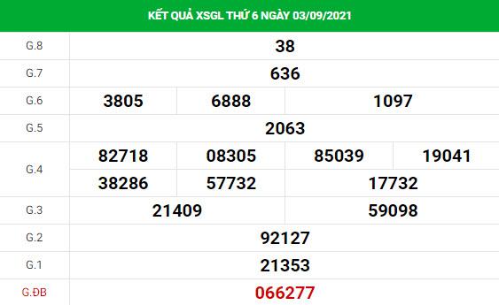 Dự đoán XSGL ngày 10/9/2021 hôm nay thứ sáu